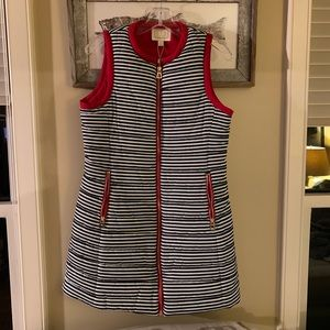 Sail to Sable long puffer vest